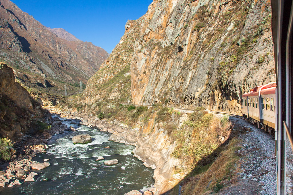 Trane to Machu Picchu