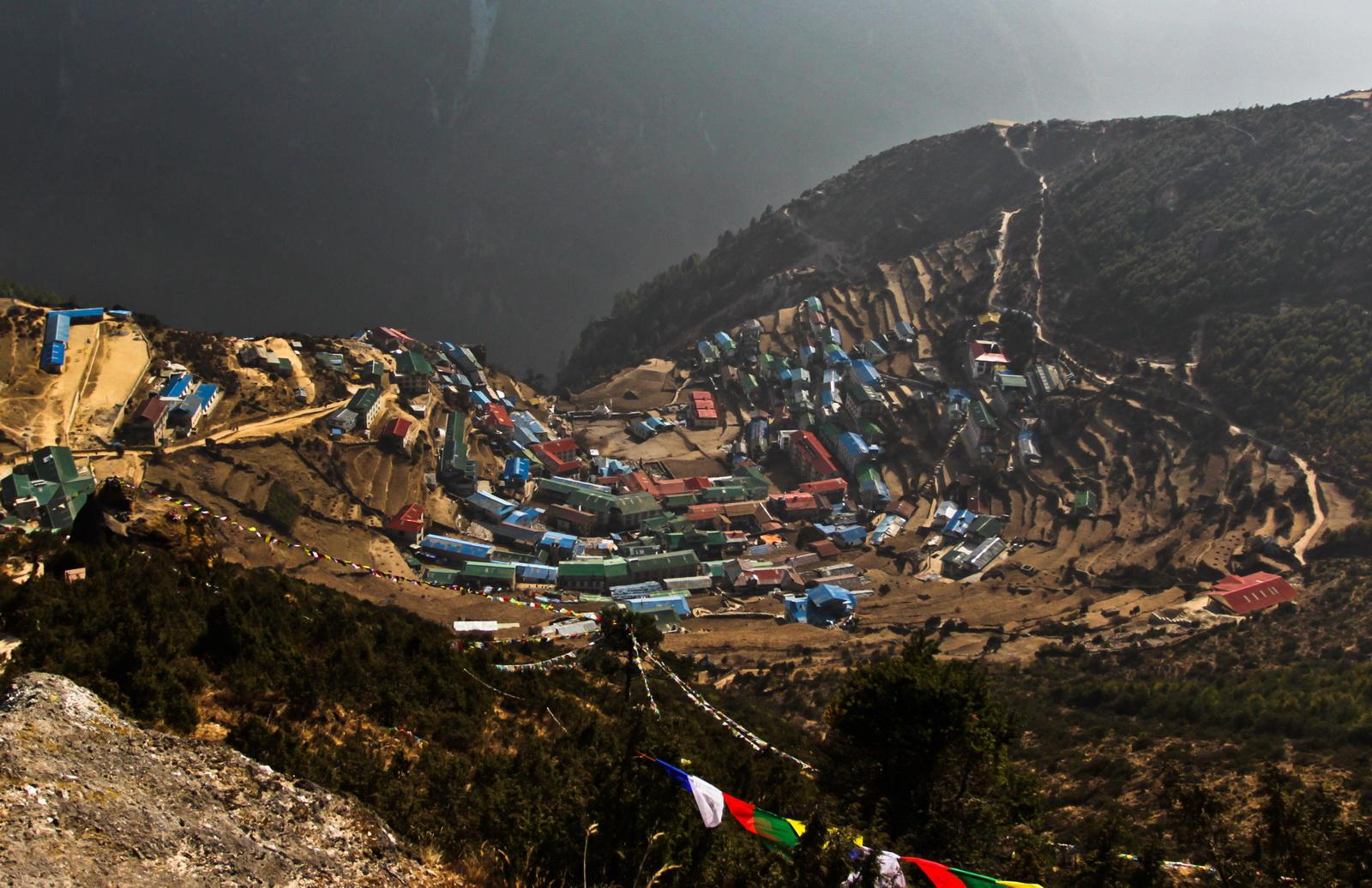 Непал, Намче Базар, район Кхумбу