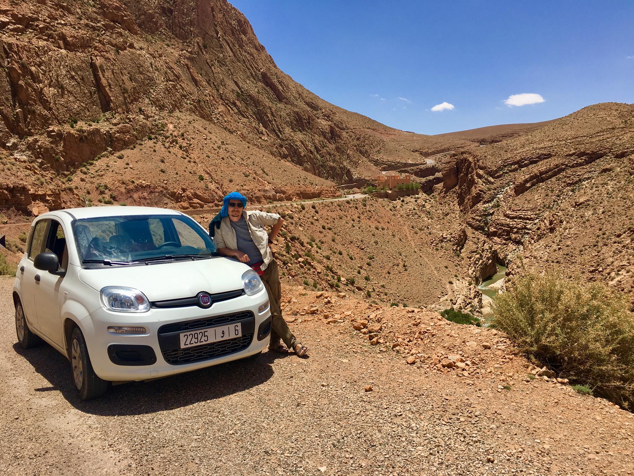Идеальный маршрут по Марокко.