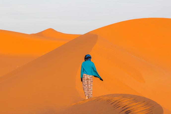 туарегский тюрбан - тагельмуст