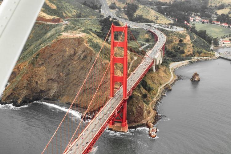 Сан-Франциско с высоты птичьего полета