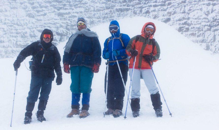 Зимний поход в Карпатах – личный опыт восхождения на Поп-Иван (Белый Слон)