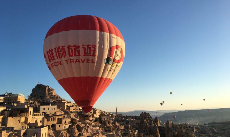 Отели Каппадокии – с лучшим видом на воздушные шары