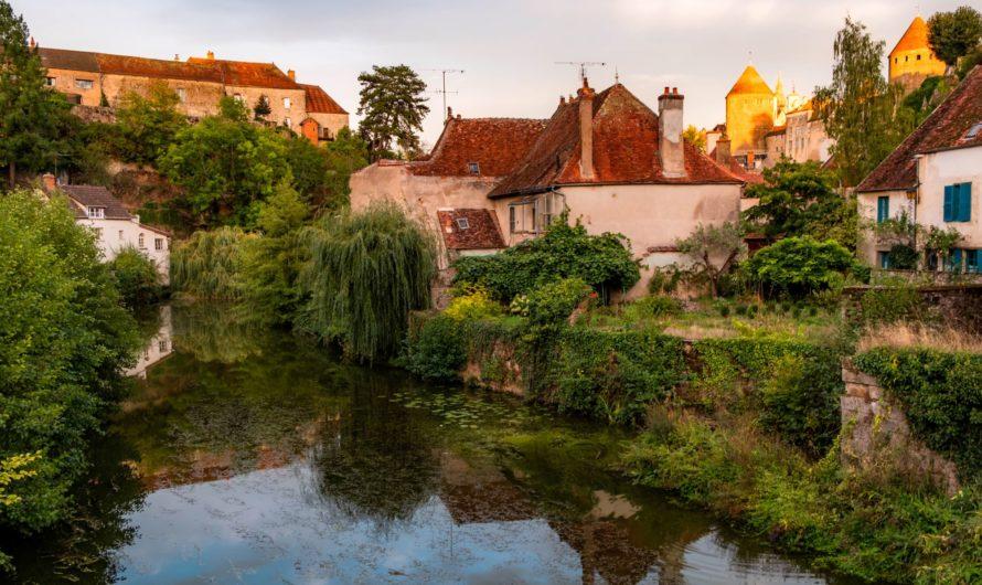 Самые красивые деревни Франции – деревенская Бургундия